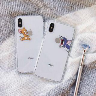 [ FREE NM ] Tom & jerry iPhone case