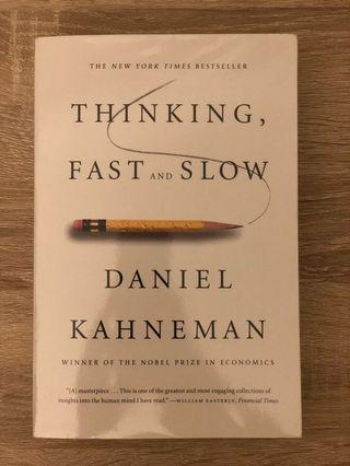 Book Thinking Fast & Slow