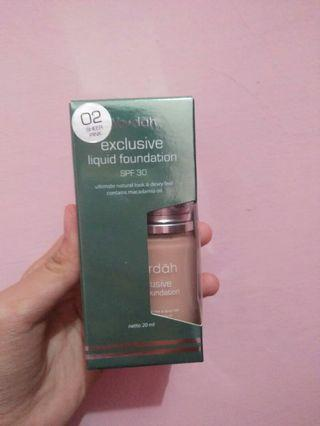 WARDAH EXCLUSIVE LIQUID FOUNDATION SHADE 02