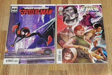 Marvel Comics Miles Morales Spiderman & Marvelous X-Men Variant