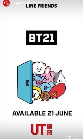 [ALL SOLD OUT] BT21 x UNIQLO T-SHIRTS
