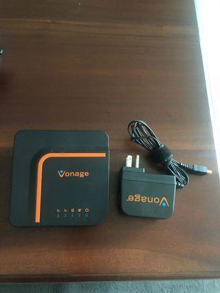 🚚 Vonage digital phone service adapter VDV23-VD