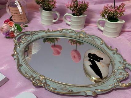 鏡面托盤/糖果盤
