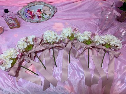 姊妹花球 伴娘花球 佈置裝飾