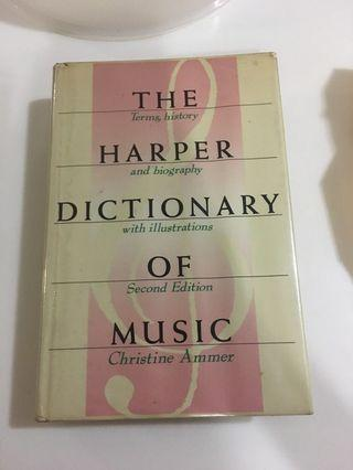 The Harper Dictionary of Music