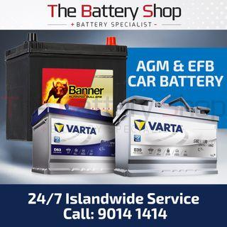 AGM Car Battery - EFB Car Battery Replacement (24Hrs)