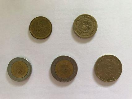 Chilean Coins Collection