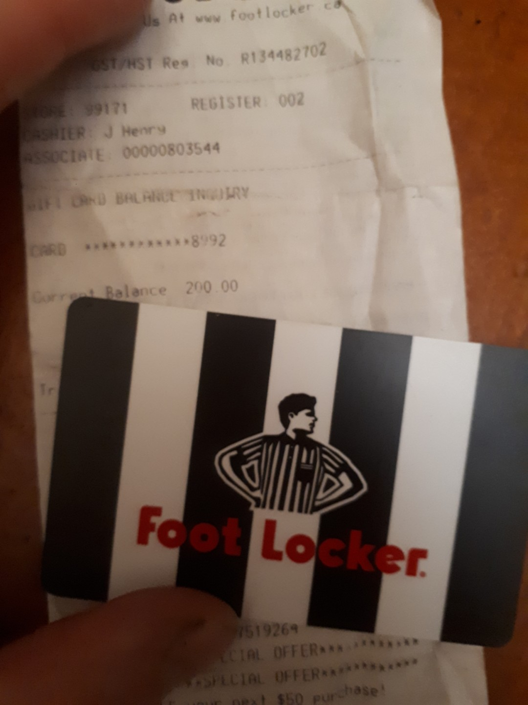 200 Footlocker Gift Card Men S Fashion Footwear On Carousell