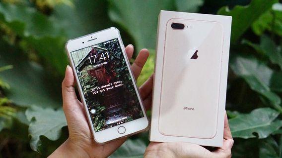 iPhone 8 Plus 256 GB Rose Gold