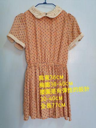 🚚 復古時尚 洋裝 短袖洋裝 連身裙 連身洋裝
