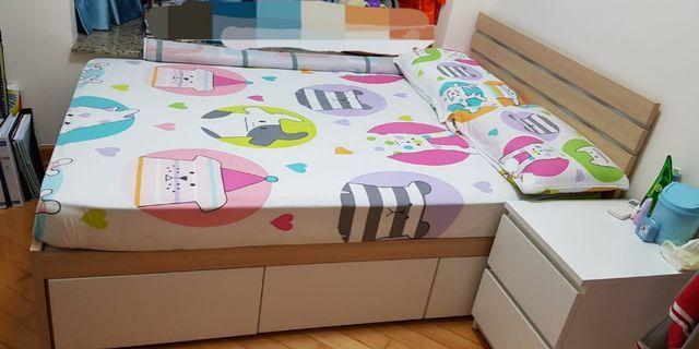 LAST 2 DAYS SALE! 最後兩日大減價! - 4尺床 SS Bed with 3 drawers