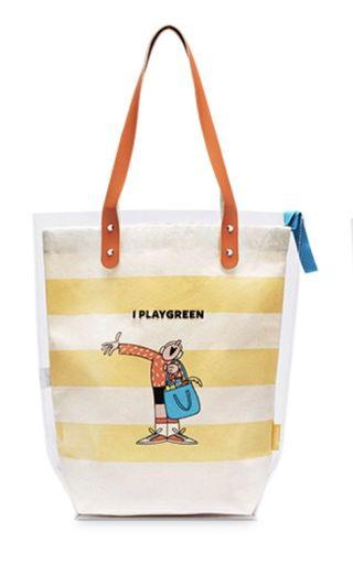 🚚 Innisfree Play Green limited ed Tote bag