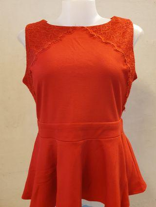 #Carouselland Peplum Top
