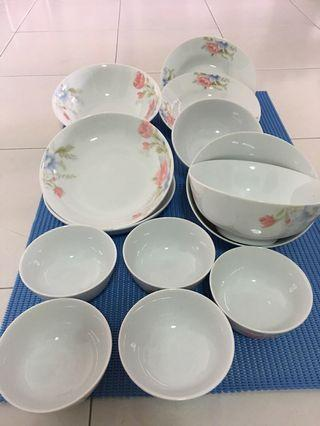 Plates n bowls for sale
