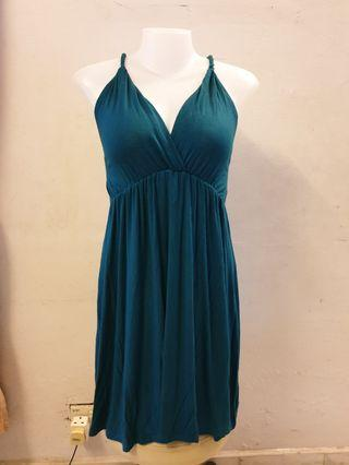 #Carouselland Dark Green Dress
