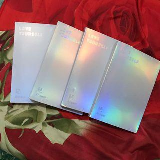 BTS LOVE YOURSELF ANSWER [UNSEALED] NO PC