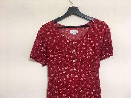 🚚 紅色洋裝 /澳洲購買