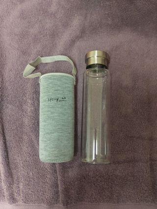 🚚 玻璃冷水瓶/冰霸杯/可愛便當盒