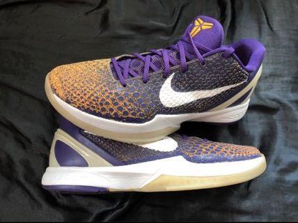 Nike Zoom Kobe 6 VI Lakers Gradient