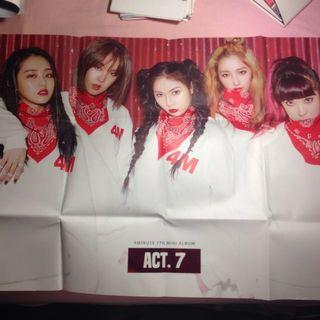 4Minute Act 7. Poster (official)