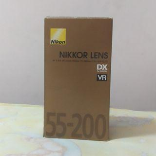 Nikon Nikkor 55 - 200mm Lens for Sports and Travel Photography