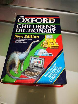 🚚 Children oxford dictionary