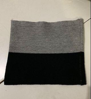 Ciput rajut two tone (black & misty grey)