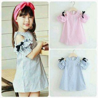 Dress Anak strippe