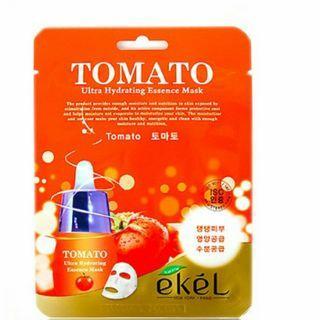 Korean Tomato Essence Pore Refinery Radiance  Ultra Hydrating Facial Treatment Masks