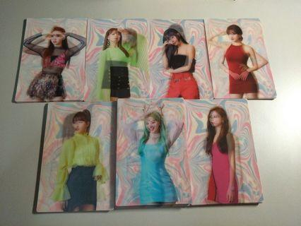 (instock) twice fancy you lenticular pc
