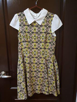 🚚 花長裙顯瘦洋裝