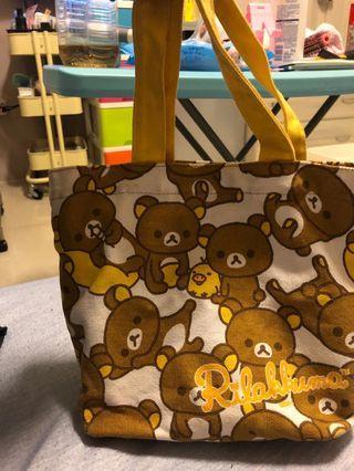 🚚 拉拉熊手提袋