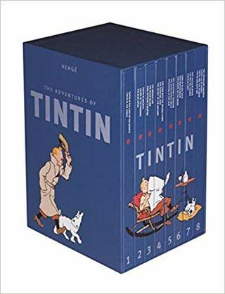 The Complete Adventures of Tintin 8 Books Collection