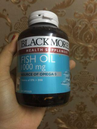 Blackmores Health Supplement Fish Oil 1000 mg