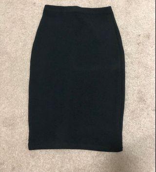 Mink Midi Skirt