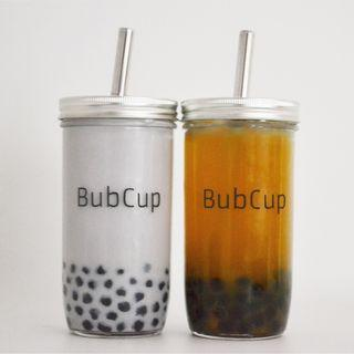 Reusable Bubble Tea Cup Set