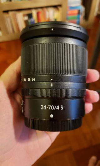 Nikon Z 24-70mm f/4S