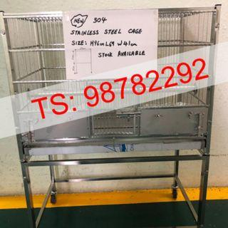 Stainless steel bird cage / parrot cage