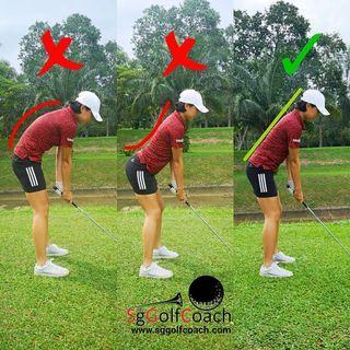 Golf lesson in Singapore