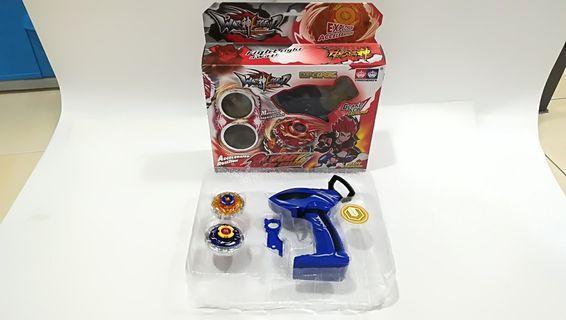 Beyblade with Gun Launcher
