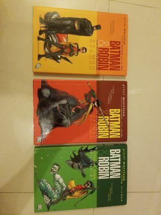 DC Comics Batman & Robin Deluxe Edition (Full Run)