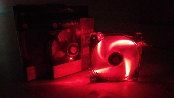 Thermatake Luna 12 PC Fan 120mm Red LED (2 pieces 1 price)