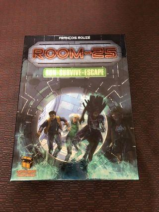 ROOM-25 矩陣密室25 桌遊