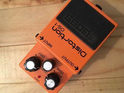 Guitar pedal Boss distortion DS 1