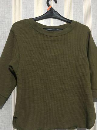 Uniqlo knit army