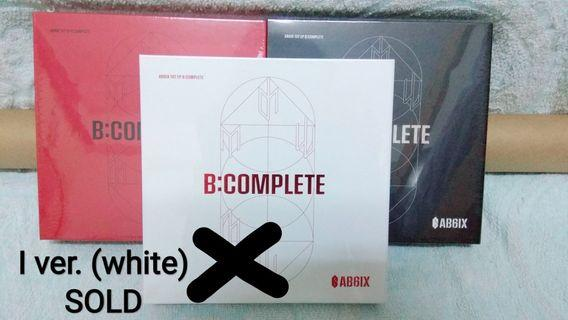 [Meet up/Post] Sealed Ready Stock AB6IX B:COMPLETE album + poster