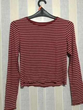 Long sleeve crop Colorbox