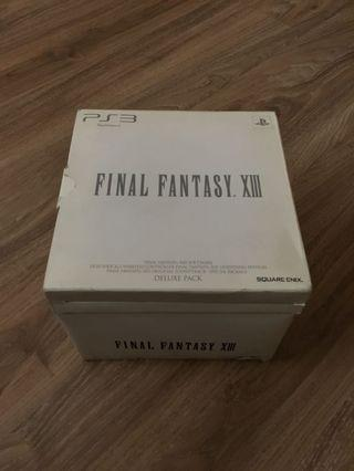 Final Fantasy 13 Deluxe Pack Limited Edition