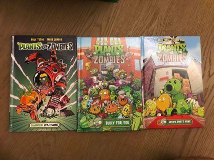Plants vs Zombies hardcover books