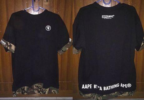 T shirt AAPE by Bathing Ape